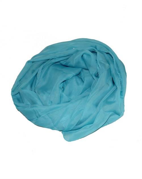 Let tørklæde, blå lys