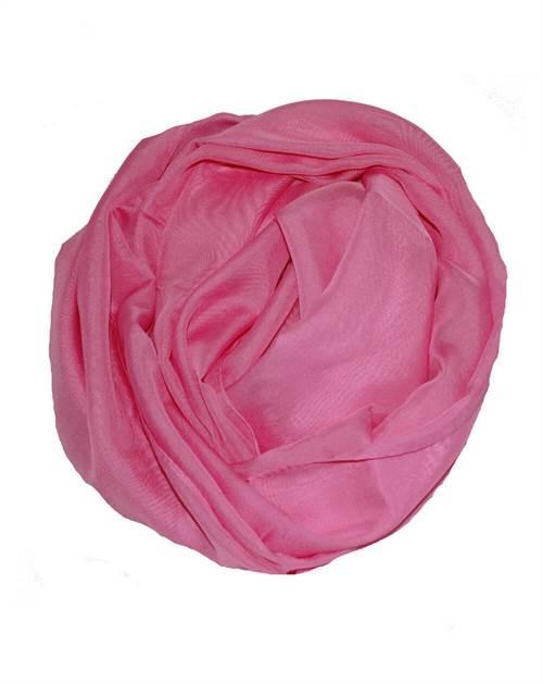 Let tørklæde, lyserød